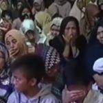 Detik-detik haru pengumuman wafatnya Habib Mustofa Al Jufri