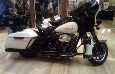Harley yang ikut dibawa di acara di Bandung (arf)