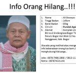 Informasi orang hilang di Bogor