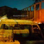 Kebakaran di Jalan KH Agus Salim
