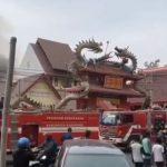 Kebakaran di Karawang