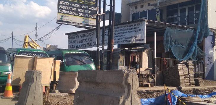 Lokasi terdampak pembangunan Tol Cisumdawu di Bandung./Foto: Arief