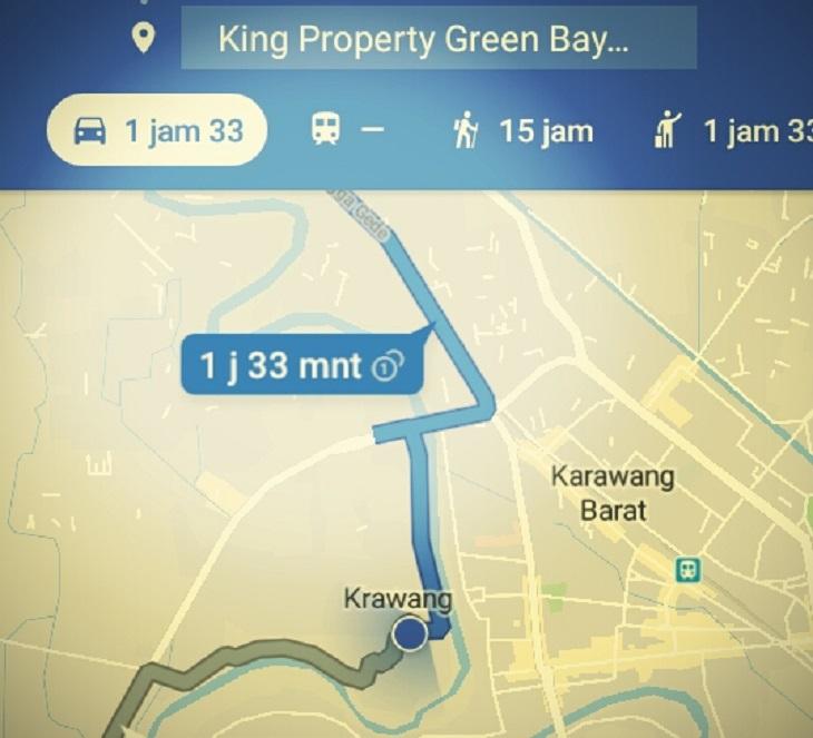 Lokasi usaha penyuap Sunjaya asal Karawang