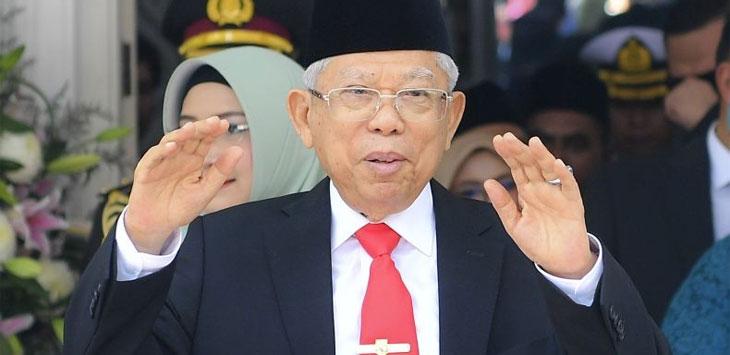 Wakil Presiden Ma'ruf Amin. (Antara)