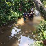 Mayat mengambang di Bogor