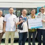 PLN UP3 Bogor dan Yayasan Baitul Maal (YBM) berbagi paket sembako (ist)