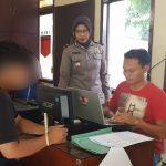 Pencuri motor yang ditangkap Polsek Bogor Selatan (ist)