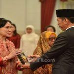 Penganugerahan Pahlawan Nasional tahun 2019 oleh Presiden Jokowi (ist)