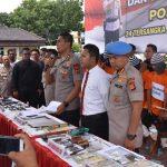 Pengungkapan kasus pencurian motor yang beraksi di Jawa Barat dan menjualnya ke Kalimantan (ist)