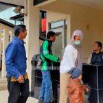 Penjagaan Mapolres Metro Bekasi Diperketat