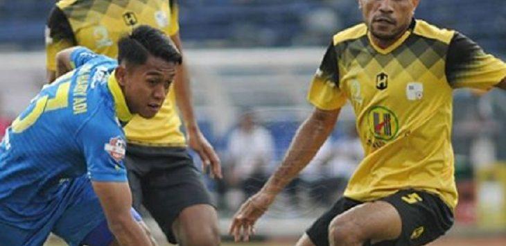 Persib Bandung VS Barito Putera./Foto: Istimewa