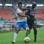 Pertandingan Tira Persikabo vs PSIS Semarang di Stadion Pakansari (cek)