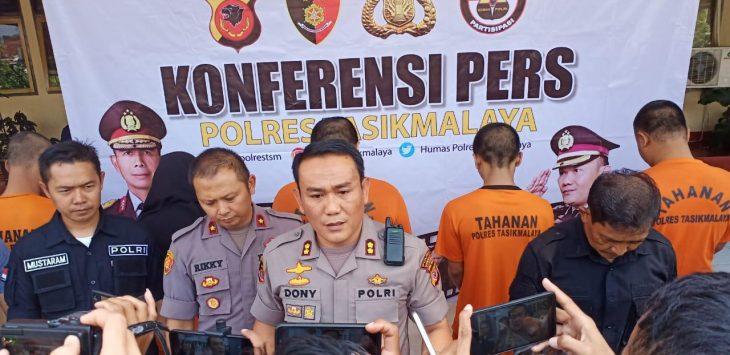 Polres Tasikmalaya mengungkap ribuan obat terlarang (ist)