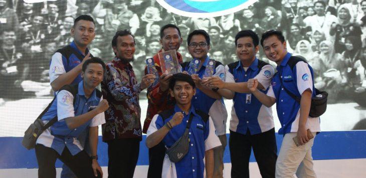 Relawan TIK Kota Cirebon berhasil meraih Anugerah Sewindu Berkarya Untuk Bangsa.ist