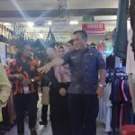 Rombongan Diperindag Karawang Sidak Pasar Cikampek I