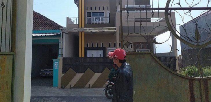 Rumah kediaman Mertua IG,yang menhina Nabi Muhammad/Foto: Istimewa