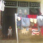 Rumah keluarga Fahri, anak korban KDRT