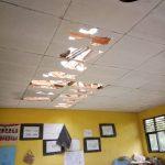 Sekolah yang rusak akibat puting beliung di Kecamatan Tenjo Kabupaten Bogor (ist)
