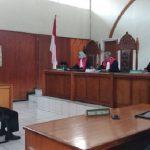 Sidang vonis Kadispora Garut Kuswendi di Pengadilan Negeri