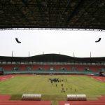 Stadion Pakansari yang direncanakan venue Piala Dunia U-20 tahun 2021 (cek)