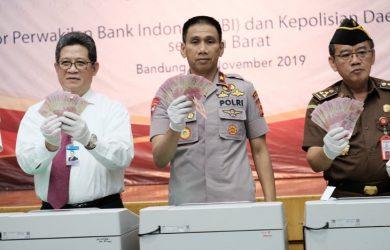 Uang palsu di Jawa Barat