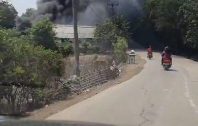 Viral asap di Karawang