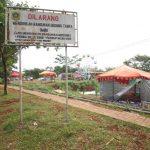 area Stadion Pakansari akan dibangun pasar malam