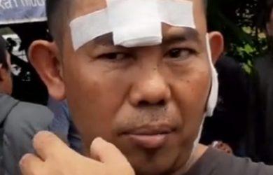 Agus Sumpena, pedagang kopi yang diberondong peluru di GT Padalarang./Foto: Istimewa