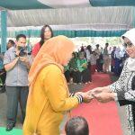 Bupati Bogor di acara Minggon Rebo Keliling (Boling) di Kecamatan Tenjolaya (cek)