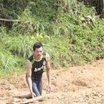 Danau lumpur yang muncul di Desa Cilangari Bandung Barat (dtc)