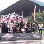 Doa bersama untuk almarhum Afridza Munandar di CBR Race Day Sentul (ist)