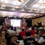 FKMTI saat menghadiri undangan Rakernas Satgas Saber Pungli 2019 di Bogor (ist)