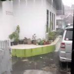 Hujan deras di Bogor