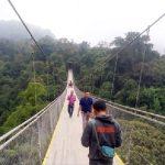 Jembatan gantung Situgunung menjadi wisata primadona di Kabupaten Sukabumi