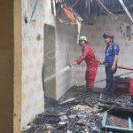 Kebakaran di Arenjaya, Satu Rumah Tanpa Penghuni Dilalap Api