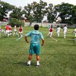 Latihan tim Persib Bandung