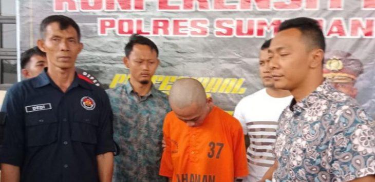 Pekerja proyek Tol Cisumdawu yang membunuh satpam proyek (ist)