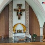 Persiapan Perayaan Natal Perdana di Gereja Santa Clara 2