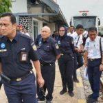 Personel gabungan lakukan pengecekan titik rawan jalur kereta