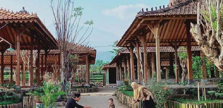 Lokasi Pesantren Bina Insan Mulia Desa Cisaat, Kecamatan Dukupuntang, Kabupaten Cirebon, Jawa Barat yang akan dilewati Saluran Udara Tegangan Ekstra Tinggi (SUTET)./Foto: Istimewa