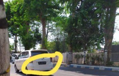 Pria yang mengendarai Avanza putih yang sering memamerkan alat kelamin ke penjual cilok (ist)