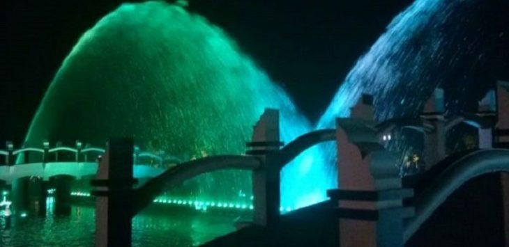 Taman Air Mancur Welas Asih./Foto: Rmol