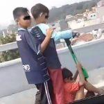 Viral video anak main skuter di Bandung