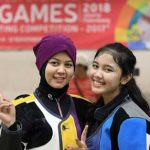 atlet menembak kabupaten bekasi raih medali emas