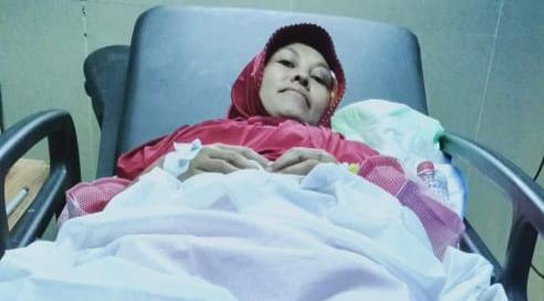 Tenaga Kerja Wanita asal Indonesia, tepatnya dari Kabupaten Bandung kondisinya memprihatinkan tidak bisa berjalan saat loncat dari lantai 3 saat hendak diperkosa majikannya.