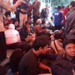 Aksi penyandang disabilitas Panti Wiyataguna Bandung