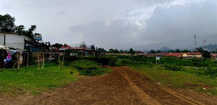 Tidak ada aktivitas lagi di lahan Pacuan Kuda di Jalan Kayuambon, Kecamatan Lembang.