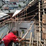 Atap rumah ambruk di Bogor