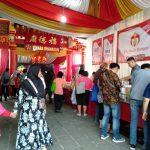 Bazar di Vihara Dhanagun Kota Bogor (adi)
