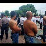 Belasan orang diamankan polisi usai bentrok 2 ormas di flyover Cikampek (ega)
